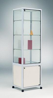 standvitrine mit unterschrank bestseller shop f r m bel und einrichtungen. Black Bedroom Furniture Sets. Home Design Ideas