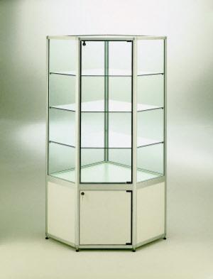 standvitrinen standvitrine in gro er auswahl. Black Bedroom Furniture Sets. Home Design Ideas